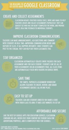 Six reasons to get excited about the Google classroom