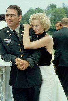 """Jessica Lange & Tommy Lee Jones (two of my most favorite actors) in """"Blue Sky"""" (one of my most favorite movies). Tommy Lee Jones, Blue Sky Movie, Kino Film, Celebrity Gallery, Celebrity Pictures, Harrison Ford, Best Actor, American Actress, Role Models"""