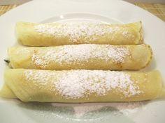 Túrós palacsinta: finom töltelékkel isteni! Hot Dog Buns, Hot Dogs, Bread, Food, Brot, Essen, Baking, Meals, Breads