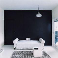Murs De La Chambre Noire Sur Pinterest Murs Noirs