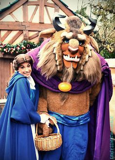 Belle and the Beast!