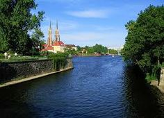 There is 5 rivers crossing in Wrocław. Let's swim throuh Odra river...