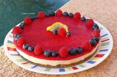 Raw Vegan Recipes by Rocki: Raw Raspberry Lemon Cheesecake