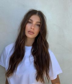 """Camila Morrone on Instagram: """"that one time i had hair and makeup"""" Hair Inspo, Hair Inspiration, Camila Morrone, Princesa Disney, Good Hair Day, Messy Hairstyles, True Beauty, Pretty Face, Pretty People"""