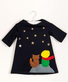 little prince -handmade girls dress-unique design