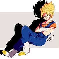 Goku And Vegeta, Son Goku, Dragon Ball Z, Otaku Anime, Manga Anime, Dbz Pictures, Gogeta And Vegito, Z Wallpaper, Dbz Characters