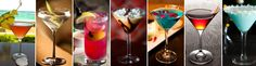 2013 Wedding Trends - Sip It: Our couples no longer request just one signature drink, but a unique cocktail selection for each course