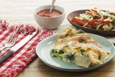 Broccoli & Spinach Stromboli