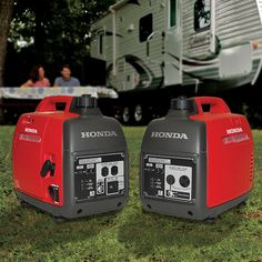 Quiet, lightweight Honda Portable Generators deliver clean, reliable power for camping, tailgating or a home power outage.