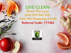 Live Clean -- Health Awareness: More Information Available HERE. FREE Customer Registration: Register NOW with Referral Code 777481 to Get £10 Free shopping Credit !!!