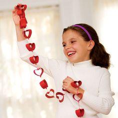 Corações com rolo de papel higiênico - Pra Gente Miúda