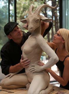 Colin and Kristine Poole – Sculpture