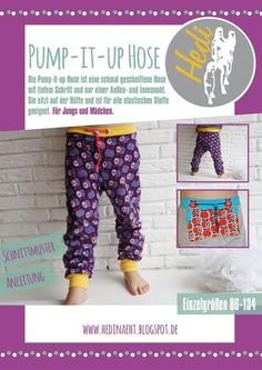 E-BOOK Pump-it-up Hose  von Hedi  auf DaWanda.com