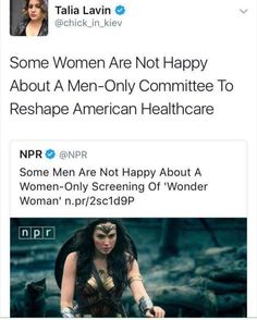 Or literally every aspect of this society that is majorly run by men
