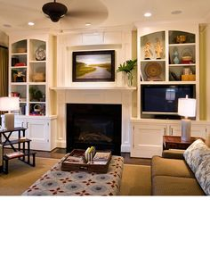 20+ Living Room with Fireplace That Will Warm you All Winter  Tags: living room with fireplace, living room with fireplace and tv on same wall, living room with fireplace and bay window, living room with fireplace and tv how to arrange, living room with fireplace and tv on different walls  #LivingRoomIdeas #FirePlaceIdeas #FirePlaceTiles #FirePlaceTileIdeas #FirePlaceDesign #LivingRoomDesign #HouseIdeas #InteriorDesign #DIYHomeDecor #HomeDecorIdeas #Winter #WinterIdeas #DreamHome #TinyHouse