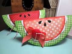 Cottage Creations: Watermelon cards