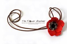 Polymer Clay Flower Tutorials - Anemone project