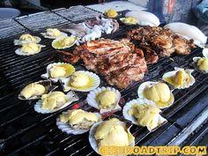 grilled food in Cebu