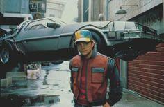 Back to the Future, Flying car, Retro-Futurism, Future, 2015, Marty McFly, DeLorean, 80's, 90's