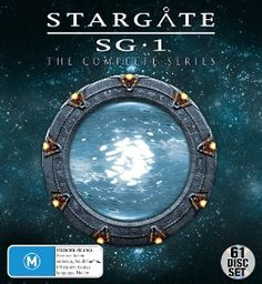 STARGATE SG-1 (MEGAPACK) DVD - 61 DISC SET (New) interesting show