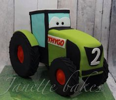 Claas tractor cake - Cake by Janette Bakes