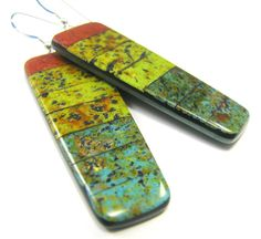 Polymer Clay Earrings Fabulous Faux Collection por DivaDesignsInc