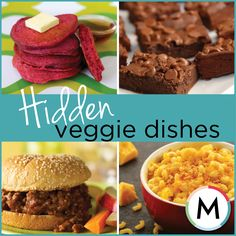 RECIPE OF THE WEEK: Hidden veggie dishes! Try these seven sneaky recipes that disguise veggies and trick your kids. They will love these dishes and probably won't even realise that they are eating vegetables! #RecipeOfTheWeek #hiddenveggies #veggies #vegetables #kids #food #healthy #dishes Source: http://www.metroparent.com/Blogs/Crumbs/August-2012/Hidden-Vegetables-Recipes-for-Kids/?cparticle=1&siarticle=0#artanc