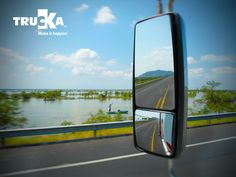 Trucka haciendo presencia en carreteras de Sinaloa