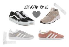 sneakers by s0fiae on Polyvore featuring Vans, adidas Originals and NIKE