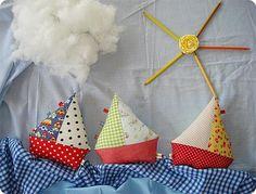 DIY Handmade Baby Toys : DIY Ship Ahoi