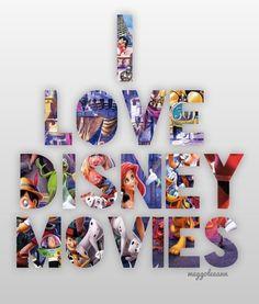 i love disney movies! I love disney just period!!