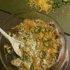 Jalapeno Popper Dip with Bacon Allrecipes.com
