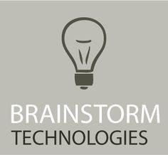 brainstorm technologies - logo design