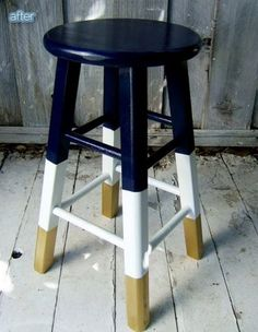 Cool Painted Stool Idea (51)