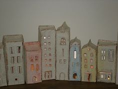 pretty milk carton houses