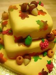 pictures of thanksgiving cakes - Google Search