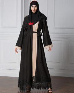 Fashionable Muslim Abaya Women Burqa Linen Fabric Plus Size Abaya Retail Wholesale Islamic Clothing
