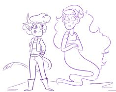 A Future Alternate Universe for 'Star Vs The Forces of Evil. Butterfly Family, Star Butterfly, Starco, Star Y Marco, Star Family, Anime Drawings Sketches, Fanart, Cartoon Art Styles, Star Vs The Forces Of Evil