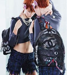 Chanel presenta la Backpack primavera verano 2014