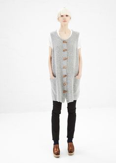 Acne Studios Chantal Dress (Grey Melange)