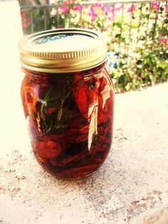 sundried tomatoes (using dehydrator)