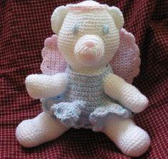 Angel Bear   Crochet Pattern   YouCanMakeThis.com
