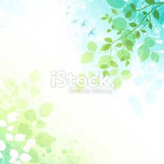 Spring Background Royalty Free Stock Vector Art Illustration