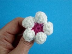 Цветок яблони Вязание крючком Урок 11 How to crochet flower