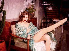 Lindsey Wixson by Ellen von Unwerth for Vogue Magazine Russia July 2015.