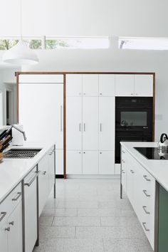 Ge Artistry Kitchen Ikea Hutch 44 Best Modern Design Images Kitchens Articles About Renovated Midcentury Gem Austin On Dwell Com