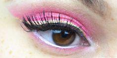 Sailor Chibimoon inspired makeup by http://www.sweetcherry.de/2016/01/blogparade-sailor-chibi-moon.html