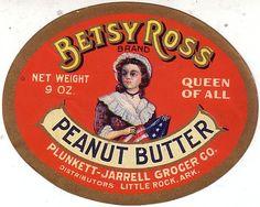 Betsy Ross peanut butter