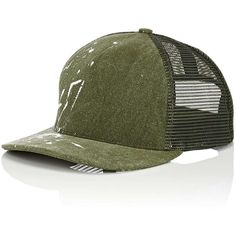 09892875556 ... Canvas Trucker Hat (320 CAD) ❤ liked on Polyvore featuring men s fashion