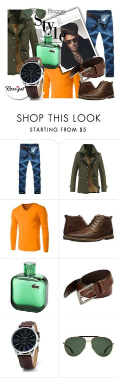 """""""Autumn men look 43."""" by merimaa997 ❤ liked on Polyvore featuring Steve Madden, HUGO, Gucci, men's fashion and menswear"""